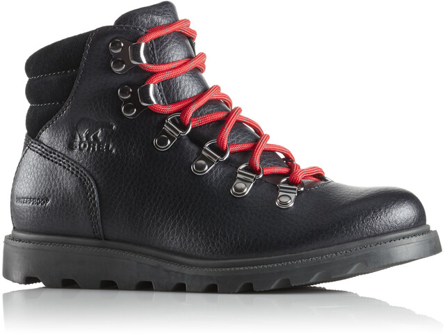 Sorel Madson Hiker Waterproof Zapatillas Niños, black/black
